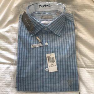 Michael Kors NWT!!!! 15-151/2 34-35 men's shirt